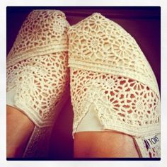 toms- I have these but mine are bobs!!! Love them! So comfy!