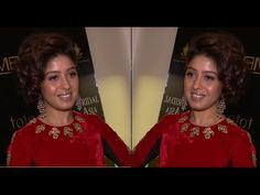 Sunidhi Chauhan clicked for the Bridal Asia show.