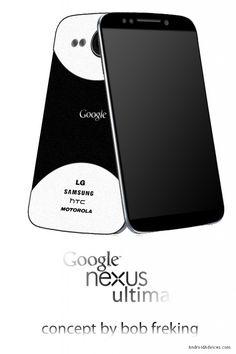 Google Nexus Ultima Concept Phone - First Jellybean Device