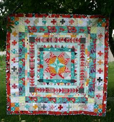 Marcelle Medallion Quilt | Hopeful Homemaker