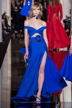 Paris Fashion Week Haute Couture Spring/Summer 2015- Atelier Versace - Catwalk