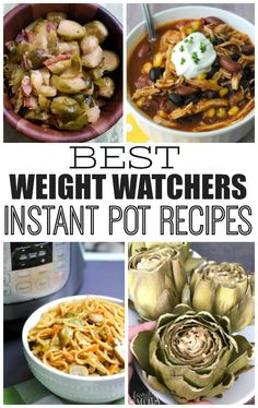These Weight Watchers Instant Pot Recipes provide quick, low point recipes and meals your whole family will love to eat.
