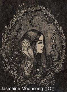 the priestess of hecate is part of Witch art - The Priestess of Hecate Fantasyart Goddesses Art Inspo, Kunst Inspo, Art And Illustration, Cartoon Illustrations, Fantasy Kunst, Fantasy Art, Art Noir, Arte Obscura, Witch Art