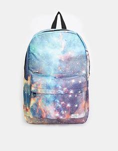 Ryggsäck från ASOS Spiral Galaxy Backpack