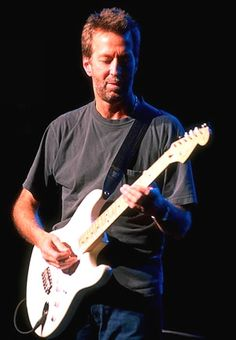 I love my husband, but seriously... If I weren't married I'd be chasing after Eric Clapton...