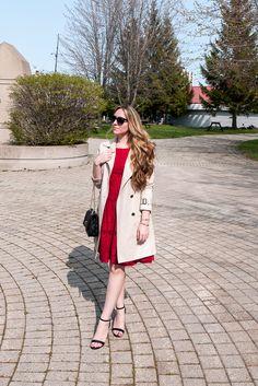 Smart set red dress