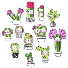 лд, кактусы, and распечатки image