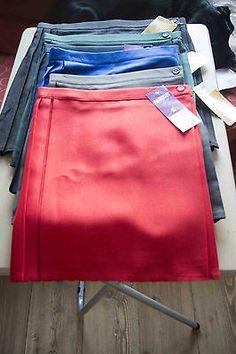 Ladies//Girls Size 34 inch waist School Gym Skirt Netball Skirt Games Skirt Grey