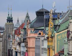 Czech Republic - This shot has it all: color, patina, architecture, shape and form, fabulousness. I love it.