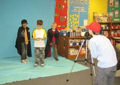 This article is from a teacher that makes at least two film shorts with her elementary students. She has some great ideas and suggestions that can be incorporated into your own school program as well as modified to work for after-school programs.