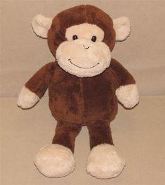 "Animal Adventure Brown Tan Monkey Plush Stuffed Animal 17"" Toy Sweet Sprouts #AnimalAdventure"