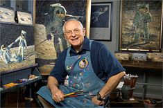 "Greenwich Workshop - Alan Bean - ""Apollo Moonscape: An Explorer Artist's Vision"""