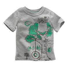 Jumping beans cotton kids baby infants boy short sleeve t-shirt boys club tee