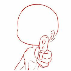 Chibi Girl Drawings, Art Drawings Sketches Simple, Kawaii Drawings, Cute Drawings, Anime Drawing Styles, Drawing Anime Clothes, Cartoon Art Styles, Chibi Body, Body Drawing Tutorial