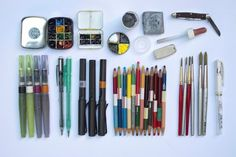 Art Tools of Jorge Royan - great information; really interesting to see how one artist uses an array of tools, and why.