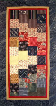 Sashiko Quilt and Wall Hanging Designs | Sashiko: Traditional Japanese Sashiko Design & Instruction