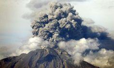 Vista de tercera erupción del Volcán Calbuco 30 abril 2015