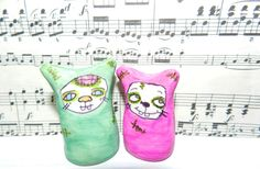 Bunnies,Monsters,and Springie Thingies  by Yokai John on Etsy