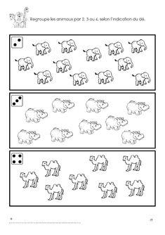 Math Worksheets, Preschool Activities, Preschool Zoo Theme, Dear Zoo, Math Crafts, Teaching Numbers, Busy Book, Zoo Animals, Kindergarten