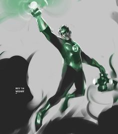Green Lantern Sketch! Had fun with this one! Slightly different style than my usual stuff. Thanks for looking!!