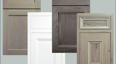 Crystal Cabinet Works is introducing Driftwood, Sunwashed Grey and Greystone, three new stains for its cabinetry. The stains were designed with today's trend toward neutral grey in mind. The hues go with the company's four new, Shaker-inspired door. Kitchen Redo, Kitchen Remodel, Kitchen Design, Kitchen Ideas, Kitchen Inspiration, Kitchen Storage, Grey Kitchens, Home Kitchens, Stained Kitchen Cabinets