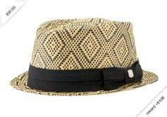 Coal Men's The Landon Natural Fedora Hat