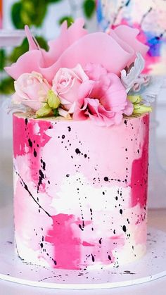abstract cake design with sail - the cake is a lie! - abstract cake design with sail – the cake is a lie! Pretty Cakes, Cute Cakes, Beautiful Cakes, Amazing Cakes, Beautiful Cake Designs, Food Cakes, Cupcake Cakes, Cupcake Ideas, Funfetti Kuchen