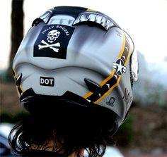 Luusama Motorcycle And Helmet Blog News: Masei 802 US NAVY Full Face Arai Shoei Motorcycle DOT Helmet