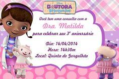 Convite digital personalizado Doutora Brinquedos 001                                                                                                                                                                                 Mais