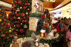 Decoração inspirada nas tradições de Natal encanta os clientes do Partage Shopping São Gonçalo   Jornalwebdigital