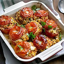 stuffed tomatoes with feta