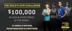 12 Week Challenge, Challenges, Gym, Excercise, Gymnastics Room, Gym Room