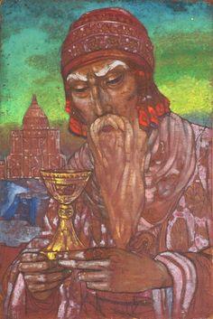 Nicholas Roerich - King Solomon