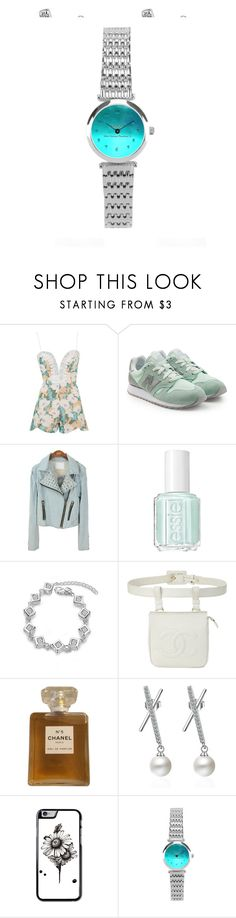 """""""Best woman fashion set"""" by knmaem on Polyvore featuring Rare London, New Balance, Essie and Chanel"""
