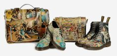 Dr. Martens uses Dutch painter Hieronymus Bosch's painting of Heaven and Hell as inspiration for its Spring Summer 2014 collection of shoes and boots.