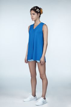 @ivincia Blue Grace Summer Tennis Dress #tennis #blue To see more check out www.ivincia.co