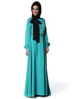 Turkuaz Elbise - Mustafa Dikmen