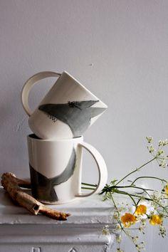 Einzigartige Kaffeebecher. Zu finden bei Etsy.