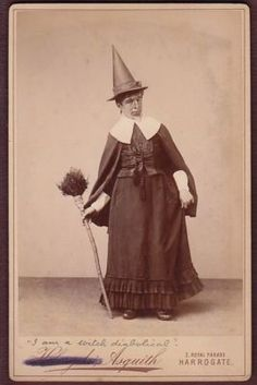 """I am a witch diabolical"", c. 1880's."