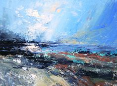 Colin Carruther's evocative seascape in oils – 'Phenomenon' – will be shown in #AAFBristol by White Space Art. 60 x 80 cm, £2,150.