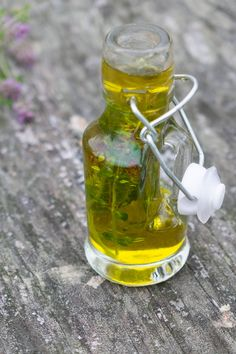 olejek-tymiankowo-mietowy Cosmetics, Homemade, Spa, Nature, Per Diem, Beauty Products, Home Made, Diy Crafts, Nature Illustration