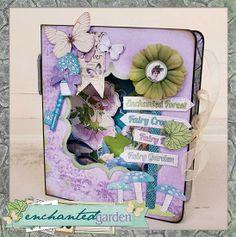 Bo Bunny - Enchanted Garden Collection - Class Kit