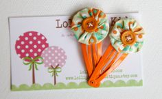 Toddler Hair Clip Girls Hair Clip Infant by Lollipopkidsboutique