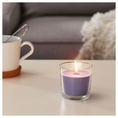 IKEA offers everything from living room furniture to mattresses and bedroom furniture so that you can design your life at home. Check out our furniture and home furnishings! Glass Candle, Candle Jars, Candle Holders, Ikea Candles, Pillar Candles, Affordable Furniture, Burning Candle, Tea Light Holder, Scented Candles