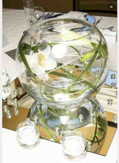 Decorative Glass Fish Bowls Glass Fish Bowl Large Decorative Wedding Party Ball Vases 10 Inch