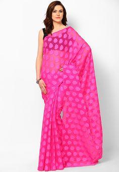 Pink Sarees at $45.60 (24% OFF)