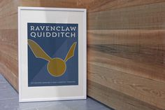Digital Ravenclaw Print Quidditch Team by allisonreneedesign