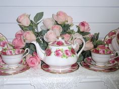 264 Best Royal Albert American Beauty China Images Dish