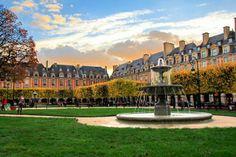 PARIS - Place des Vosges - fuievouvoltar.com