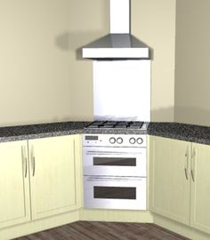Corner Cooking Solution